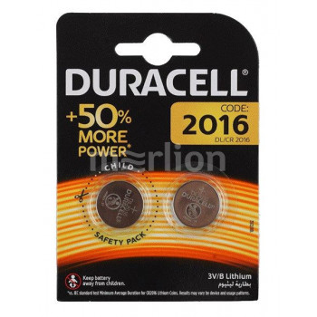 Батарея Duracell DL, CR2016