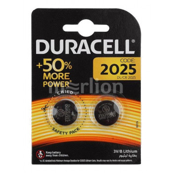Батарея Duracell DL, CR2025