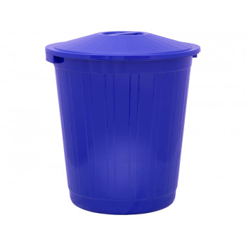 Бак с крышкой (80 л) синий