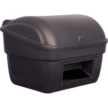 Контейнер для песка с крышкой и вставкой, 220л. черный
