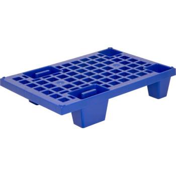 Паллет 600х400х130 (перфорированный на ножках) синий