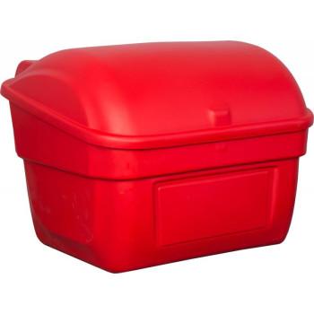 Контейнер для песка с крышкой, 220л. красный