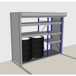 Самонесущие стеллажи(гаражи, сараи, склады)  на Pe-so.ru